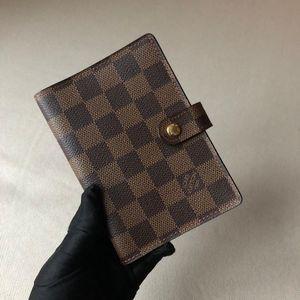 Louis Vuitton 路易·威登棋盘格手账本