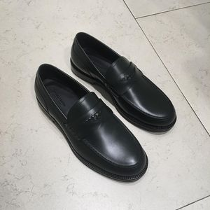 Bottega Veneta 葆蝶家全皮墨绿色43码男士皮鞋