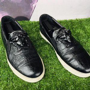 Versace 范思哲男士休闲皮鞋