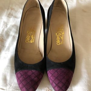 Ferragamo 菲拉格慕中古中跟鞋