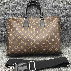 Louis Vuitton 路易·威登男士经典老花公文包手提单肩包