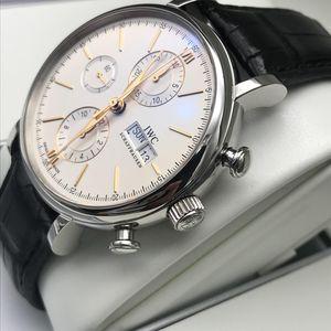 IWC 万国IW391022金针柏涛计时系列男士自动机械腕表
