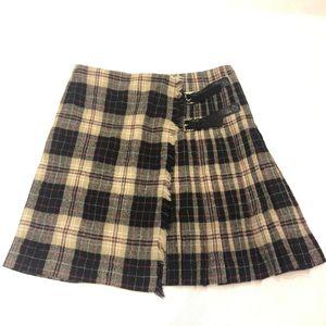 PRADA 普拉达格子短裙