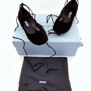 PRADA 普拉达芭蕾鞋