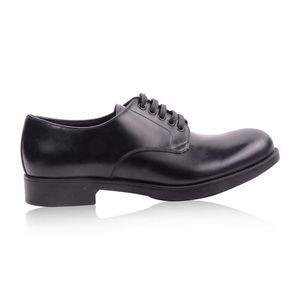 PRADA 普拉达男士牛皮正装鞋