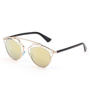 Dior 迪奥女款金色镜框金色镀膜镜片眼镜太阳镜