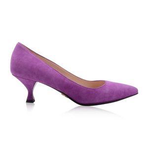 PRADA 普拉达女士麂皮高跟鞋