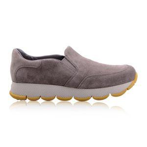 PRADA 普拉达女士麂皮休闲运动鞋