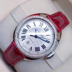 Cartier 卡地亚钥匙女后加钻机械手表
