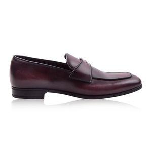 PRADA 普拉达男士牛皮商务正装皮鞋