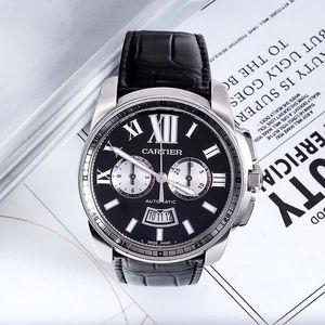 Cartier 卡地亚多功能男士自动机械腕表