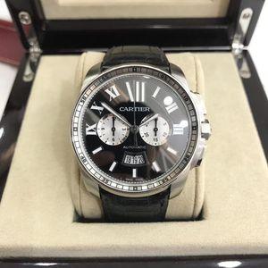 Cartier 卡地亚卡列博男士自动机械腕表