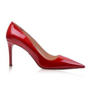 PRADA 普拉达女士漆皮高跟鞋