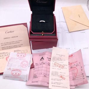 Cartier 卡地亚戒指52号