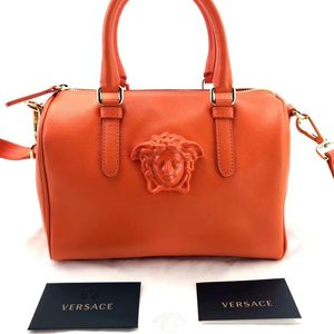 Versace 范思哲波士顿肩带手提包