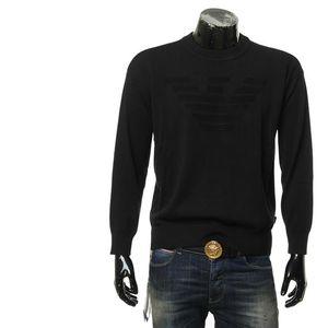 Emporio Armani 安普里奥·阿玛尼男士保暖套头针织衫