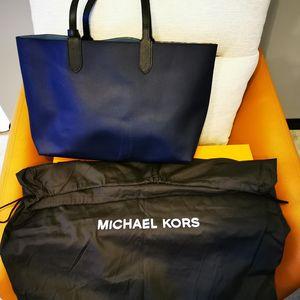 Michael kors 迈克.科尔斯中性蓝色托特手提包