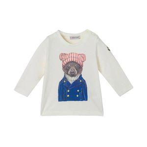 Moncler 蒙口儿童纯棉T恤