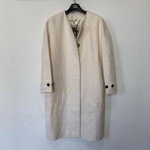 Burberry 博柏利女款羊绒大衣外套