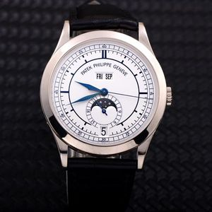 PATEK PHILIPPE 百达翡丽复杂功能系列5396G白金年历机械腕表