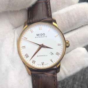 Mido 美度M8600.2.26.8贝伦赛丽系列机械表