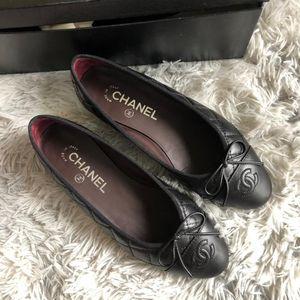 CHANEL 香奈儿菱格单鞋皮鞋