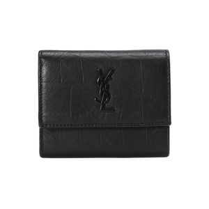 Yves Saint Laurent 伊夫·圣罗兰羊皮短款钱包