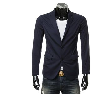 Emporio Armani 阿玛尼两粒扣休闲西装外套西服