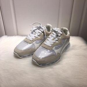 Alexander Wang 亚历山大·王女士时尚拼皮休闲鞋