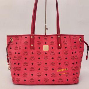 MCM 双面双色购物手提包