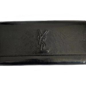 Yves Saint Laurent 伊夫·圣罗兰浮雕手拿包