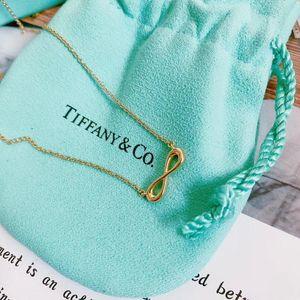 Tiffany & Co. 蒂芙尼无限爱18k金项链