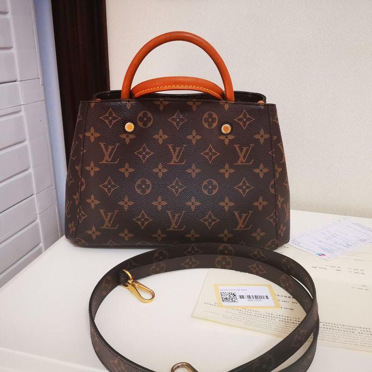 Louis Vuitton 路易·威登Montaigne BB系列公文包