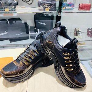 Louis Vuitton 路易·威登老花拼休闲鞋
