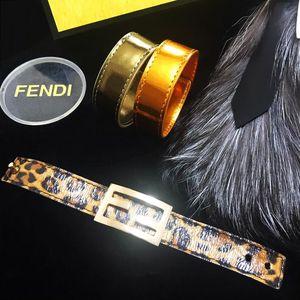 FENDI 芬迪走秀限量款炫彩珠光漆皮手环