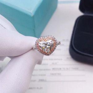 Tiffany & Co. 蒂芙尼2.09ct克拉心形爱心钻戒
