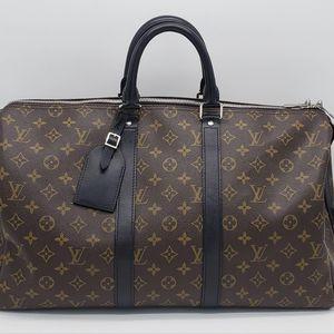 Louis Vuitton 路易·威登经典老花keepall 45旅行包