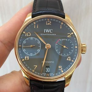 IWC 万国葡萄牙七日链机械表
