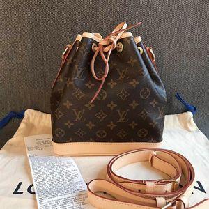 Louis Vuitton 路易·威登老花NOE水桶包