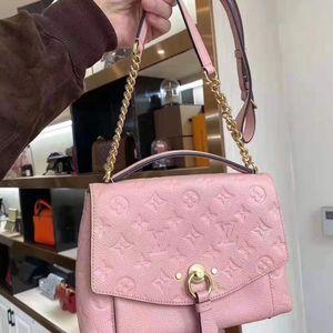 Louis Vuitton 路易·威登粉色全皮链条包