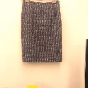 Valentino 华伦天奴羊毛tweed编织半身裙