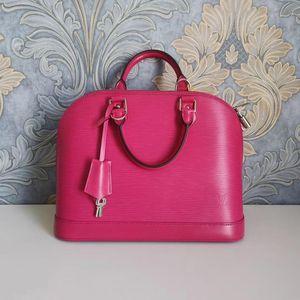 Louis Vuitton 路易·威登紫红色手提包