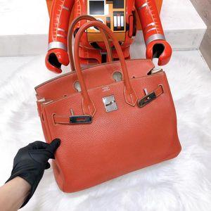 Hermès 爱马仕拼色birkin35手提包