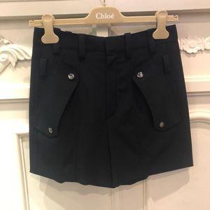 Chloé 蔻依黑色休闲短裤