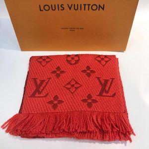 Louis Vuitton 路易·威登经典橙色羊毛围巾