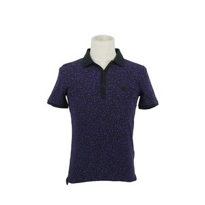 Burberry 博柏利紫色polo衫短袖