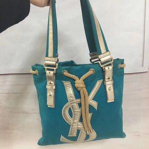 Yves Saint Laurent 伊夫·圣罗兰单肩购物袋