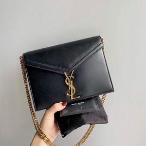 Yves Saint Laurent 伊夫·圣罗兰黑色信封包