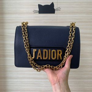 Dior 迪奥藏蓝色链条包