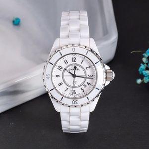CHANEL 香奈儿jJ12系列白陶瓷女士腕表